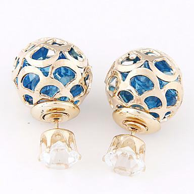 Γυναικεία Κουμπωτά Σκουλαρίκια Ρητίνη Κράμα Κοσμήματα Καθημερινά Κοστούμια Κοσμήματα