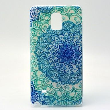 Για Samsung Galaxy Note Με σχέδια tok Πίσω Κάλυμμα tok Μάνταλα TPU Samsung Note 4