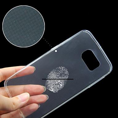 Samsung Galaxy s6 άκρη συμβατό διαφανή σαφή πίσω κάλυμμα