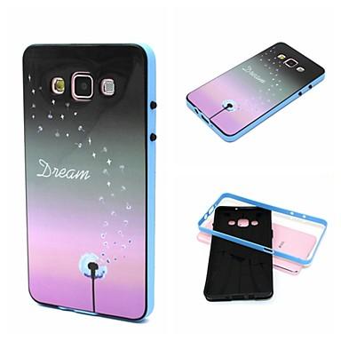 2-σε-1 πικραλίδα TPU μοτίβο όνειρο πίσω κάλυμμα με το pc προφυλακτήρα που απορροφά τους κραδασμούς μαλακή θήκη για το Samsung Galaxy Α7 /