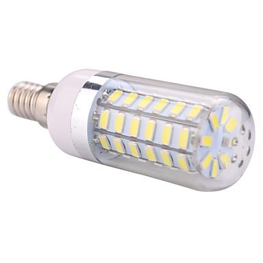luzes de milho led ywxlight® e14 60 smd 5730 1200 lm branco quente branco frio 220-240 ac 110-130 v