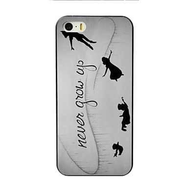 Case For Apple iPhone 8 iPhone 8 Plus iPhone 5 Case iPhone 6 iPhone 6 Plus iPhone 7 Plus iPhone 7 Pattern Back Cover Word / Phrase Hard PC