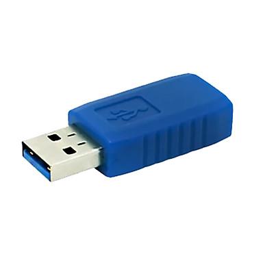 usb 3.0 uma fêmea para USB 3.0 um plugue de extensão do adaptador conversor de conector macho