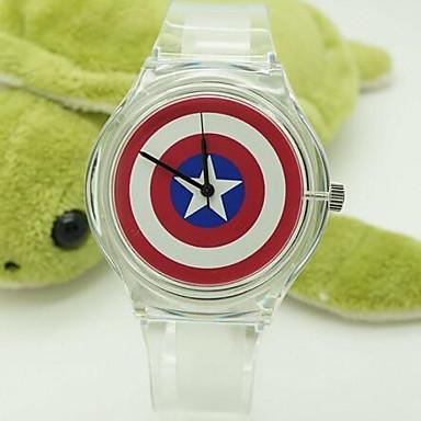 Infantil Relógio de Moda Relógio Casual Quartzo Silicone Banda
