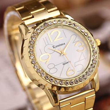 Γυναικεία Καθημερινό Ρολόι Χαλαζίας Hot Πώληση Μπάντα Λάμψη Κομψή Χρυσό