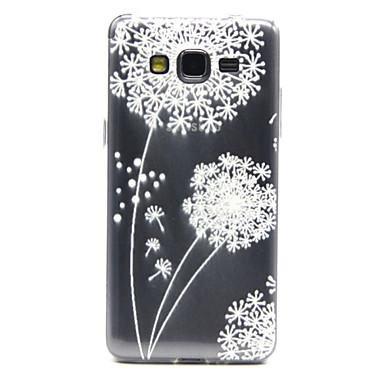 Για Samsung Galaxy Θήκη Διαφανής / Με σχέδια tok Πίσω Κάλυμμα tok Ραδίκι TPU Samsung Grand Prime