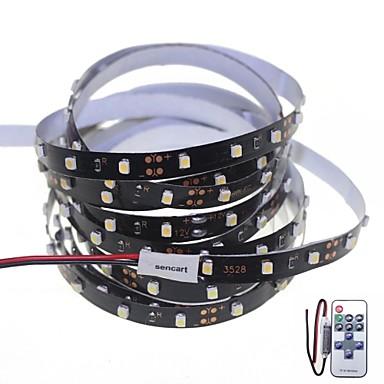 sencart bandes lumineuses led flexibles 300 led blanc t l commande d coupable intensit r glable. Black Bedroom Furniture Sets. Home Design Ideas