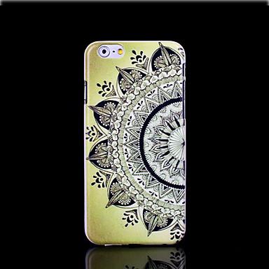 aztec mandala bloempatroon dekking voor iphone 6 plus case