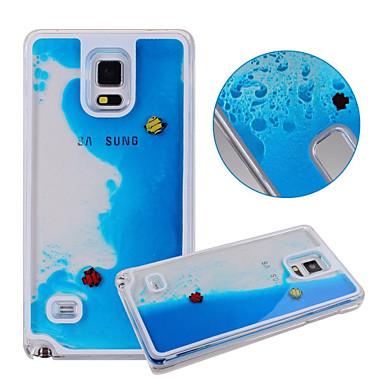 Para Samsung Galaxy Capinhas Liquido Flutuante Capinha Capa Traseira Capinha Desenho PC Samsung S5