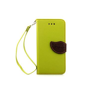 Кейс для Назначение Apple Кейс для iPhone 5 iPhone 6 iPhone 6 Plus iPhone 7 Plus iPhone 7 Бумажник для карт Кошелек со стендом Флип Чехол