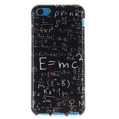 capa flexível tpu do projeto da fórmula da função para iphone 5c casos do iphone