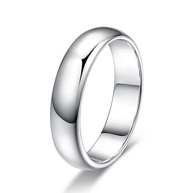 Anéis Grossos Liga Moda Estilo simples Clássico Prata Dourado Jóias Festa 1peça
