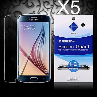Protetor de Tela para Samsung Galaxy S6 edge PET Protetor de Tela Frontal Alta Definição (HD)