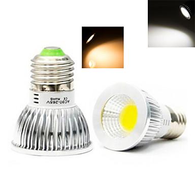 E26/E27 Lâmpadas de Foco de LED 1 leds COB Branco Quente Branco Frio 50-150lm 2800-3500/6000-6500K AC 220-240V