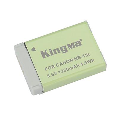 Kingma NB-13L αντικατάσταση 3.6V 1250mah Li-ion μπαταρία για τη Canon PowerShot g7 x - γκρι + πράσινο