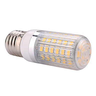 E26/E27 LED Λάμπες Καλαμπόκι T 60 leds SMD 5730 Θερμό Λευκό Ψυχρό Λευκό 1500lm 2800-3200/6000-6500K AC110 AC220V