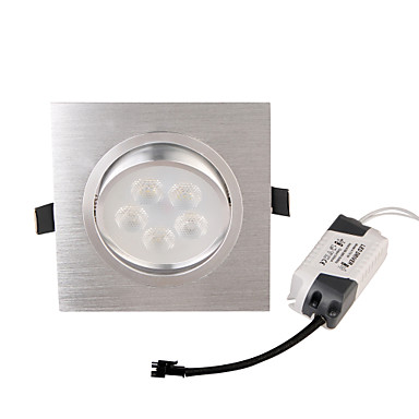 YouOKLight 450lm Verzonken lampen 5 LED-kralen Krachtige LED Decoratief Warm wit 85-265V