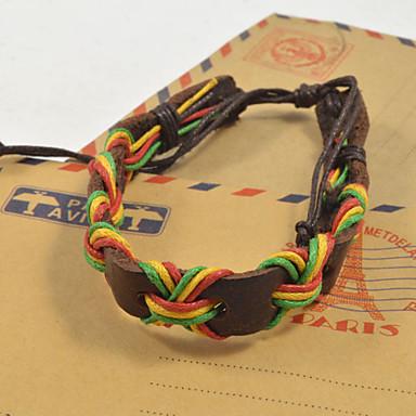 Heren Dames Lederen armbanden Leder Sieraden Voor Dagelijks Causaal Sport 1 stuks