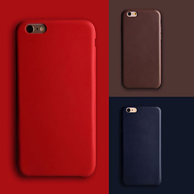 Case For Apple iPhone 8 iPhone 8 Plus iPhone 6 iPhone 6 Plus iPhone 7 Plus iPhone 7 Ultra-thin Back Cover Solid Color Hard PU Leather for