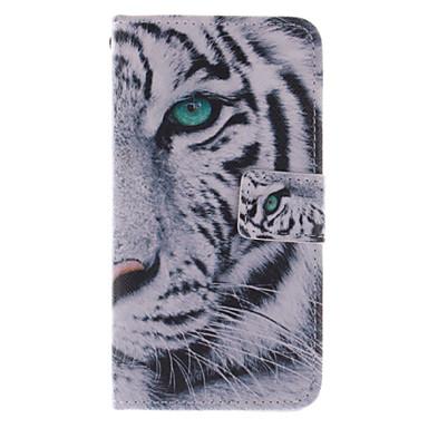 Για Samsung Galaxy Θήκη Πορτοφόλι / Θήκη καρτών / με βάση στήριξης / Ανοιγόμενη tok Πλήρης κάλυψη tok Ζώο Συνθετικό δέρμα Samsung S5