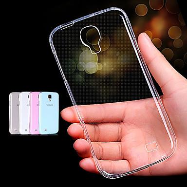 Για Samsung Galaxy Θήκη Διαφανής tok Πίσω Κάλυμμα tok Μονόχρωμη TPU Samsung S4 Mini