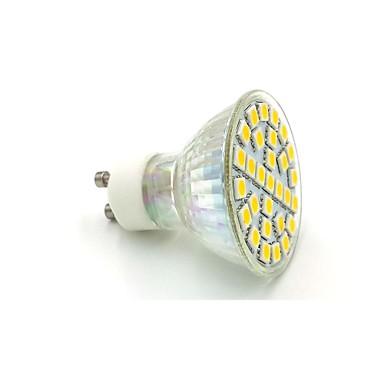 10-12 lm GU10 Lâmpadas de Foco de LED C35 29 leds SMD 5050 Branco Quente Branco Frio AC 220-240V