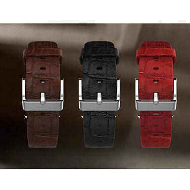 Faixa de relógio para relógio de maçã pulseira de relógio de couro de 42 mm fivela clássica
