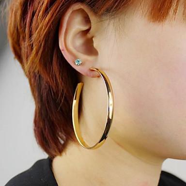 Dames Ring oorbellen Opvallende sieraden Modieus Legering Cirkelvorm Sieraden