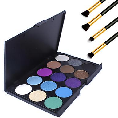 15pcs Olhos Alta qualidade Sombra para Olhos Pó Maquiagem Esfumada Maquiagem de Festa Maquiagem para o Dia A Dia Diário