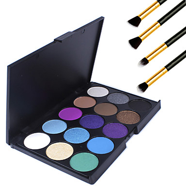 15 Oog Hoge kwaliteit Oogschaduw Poeder Smokey make-up Feestelijke make-up Dagelijkse make-up Dagelijks