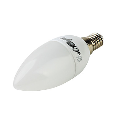 E14 Luzes de LED em Vela C35 10 leds SMD 2835 Decorativa Branco Quente Branco Frio 200lm 3000/6000K AC 220-240V