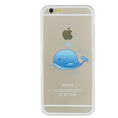 Για Θήκη iPhone 5 Εξαιρετικά λεπτή Διαφανής Με σχέδια tok Πίσω Κάλυμμα tok Ζώο Μαλακή TPU για iPhone SE/5s iPhone 5