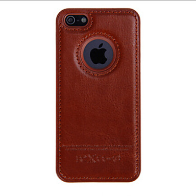 Capinha Para Apple iPhone 8 iPhone 8 Plus iPhone 6 iPhone 6 Plus Capa traseira Côr Sólida Rígida PU Leather para iPhone 8 Plus iPhone 8