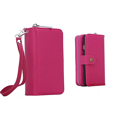 6 Porta 03572595 portafoglio sintetica unica di 6 Custodia Per Plus per Resistente credito pelle iPhone A Tinta iPhone Integrale carte Apple Fq01RxX