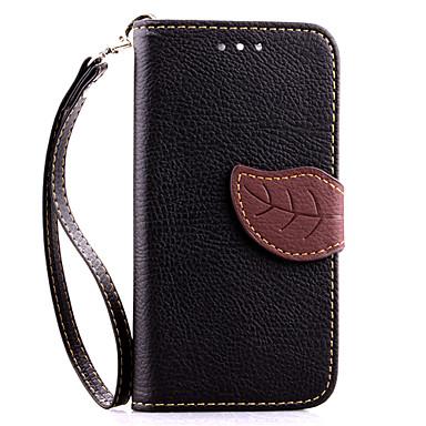 Capinha Para Motorola Capinha Motorola Porta-Cartão Carteira Com Suporte Flip Capa Proteção Completa Côr Sólida Rígida PU Leather para