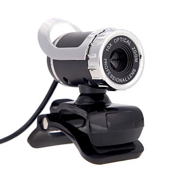 usb 2.0 12 m web κάμερα HD κάμερα 360 μοιρών με μικρόφωνο με κλιπ για την επιφάνεια εργασίας skype PC υπολογιστών laptop