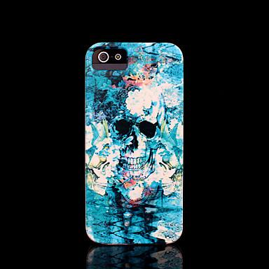 schedel patroon harde kaft voor iPhone 5 case voor de iPhone 5 s