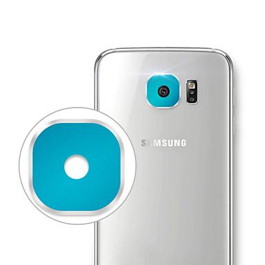 protetora de liga de alumínio protetor tampa da lente da câmera para samsung S6 / g9200 / edge S6 / g9250 -