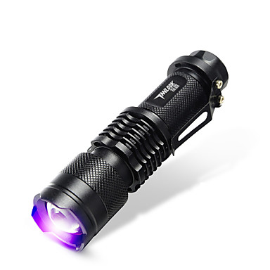 TanLu LED-Zaklampen / Handzaklampen LED 20 Lumens 1 Mode LED 14500 Verstelbare focus / Oplaadbaar / Ultraviolet licht / Vals geld detector