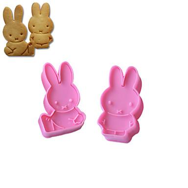 ieftine Ustensile & Gadget-uri de Copt-2pcs Plastic Ecologic Reparații Tort Biscuiți Plăcintă Animal coacere Mold Instrumente de coacere