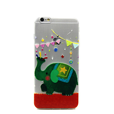 impressão ultra fino tpu 3d de design especial para iphone 6 iphone