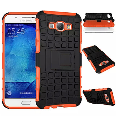 TPU+PC Heavy Duty Armor Stand Case Protective Skin Double Color Shock Prooffor Samsung Galaxy A8/A7/A5/A3 2015