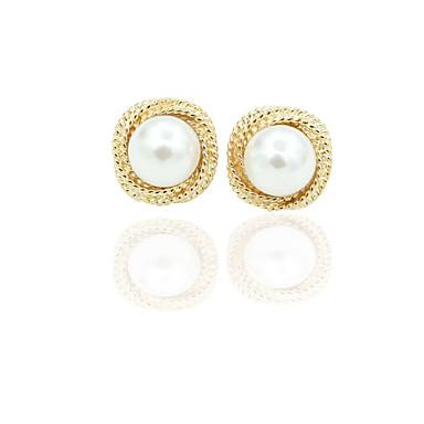 Dames Oorknopjes Druppel oorbellen Kristal Strass Legering Sieraden Bruiloft Dagelijks Kostuum juwelen