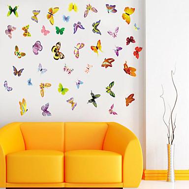 Dieren Cartoon Muurstickers Dierlijke muurstickers Decoratieve Muurstickers, Vinyl Huisdecoratie Muursticker Wand