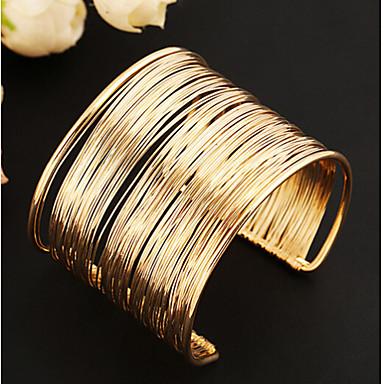 Dames Cuff armbanden Uniek ontwerp Vintage Schattig Feest Open Meerlaags Modieus Europees Legering Sieraden Sieraden Feest Dagelijks