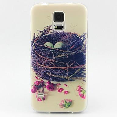 Capinha Para Samsung Galaxy Samsung Galaxy Capinhas Estampada Capa traseira Desenho Animado TPU para S6 edge S6 S5 Mini S5 S4 Mini S4 S3