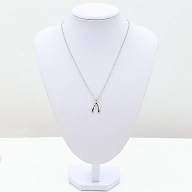 Γυναικεία Μοντέρνα Ευρωπαϊκό Κολιέ με Αλυσίδα Κρυστάλλινο Προσομειωμένο διαμάντι 18K χρυσό Αυστριακό κρύσταλλο Κολιέ με Αλυσίδα ,