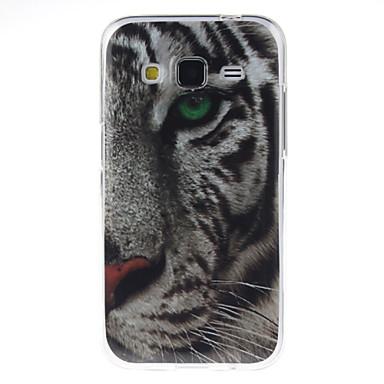 Capinha Para Samsung Galaxy Samsung Galaxy Capinhas IMD Capa traseira Animal TPU para Core Prime