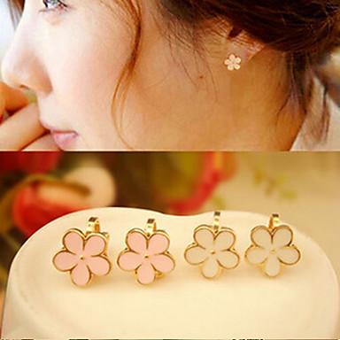 Dames Clip oorbellen Kostuum juwelen Legering Bloemvorm Sieraden Voor Bruiloft Feest Dagelijks Causaal