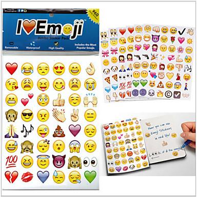 2015new 960pcs / pak emoji stickers populaire Emoji stickers voor mobiele telefoon kinderen kamers woondecoratie